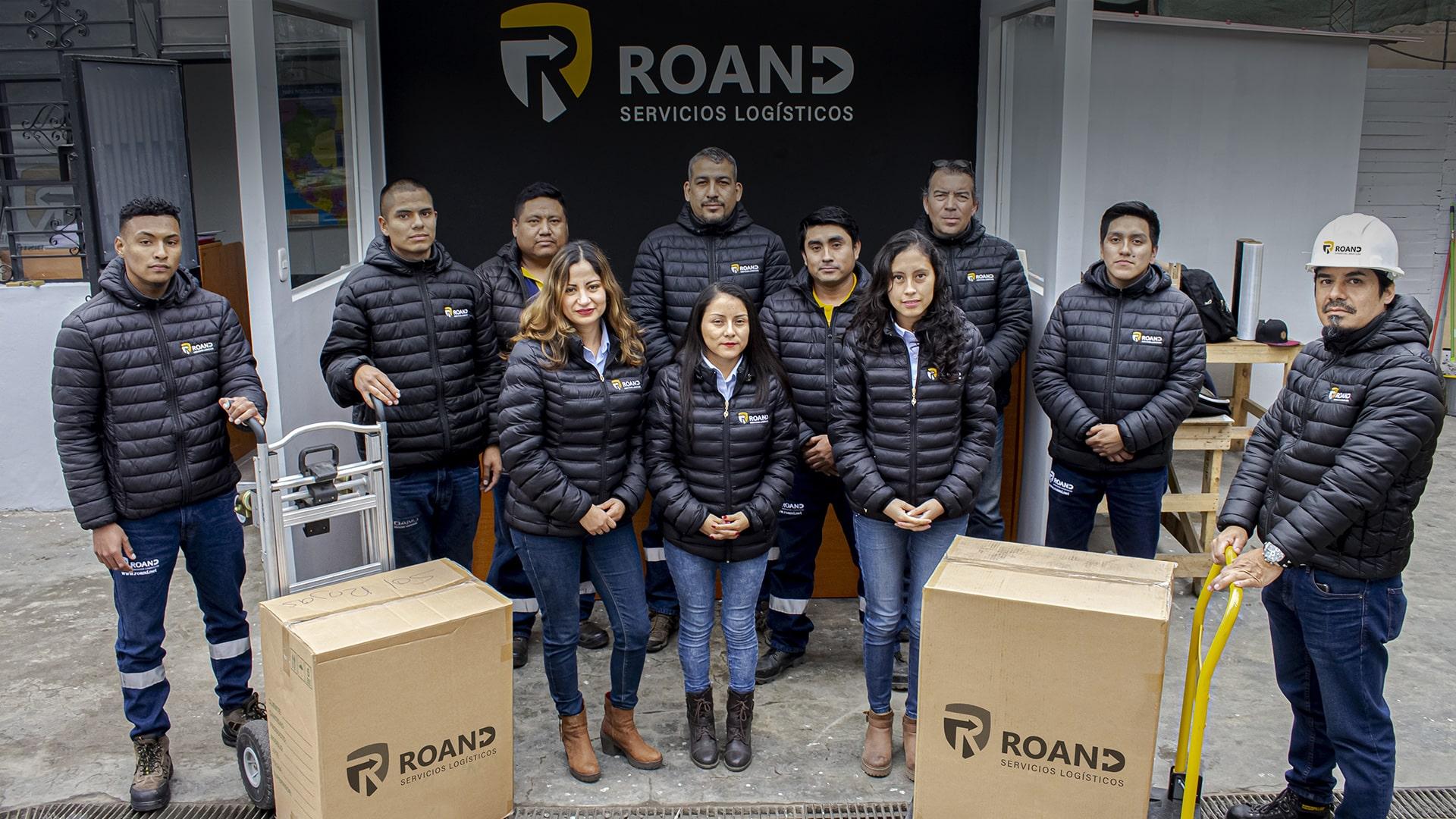 SOMOS ROAND Y BRINDAMOS SERVICIOS LOGÍSTICOS DE